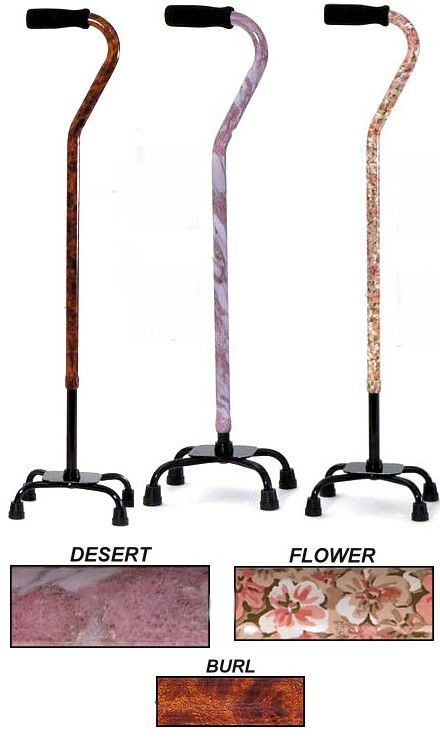 designer quad cane for women