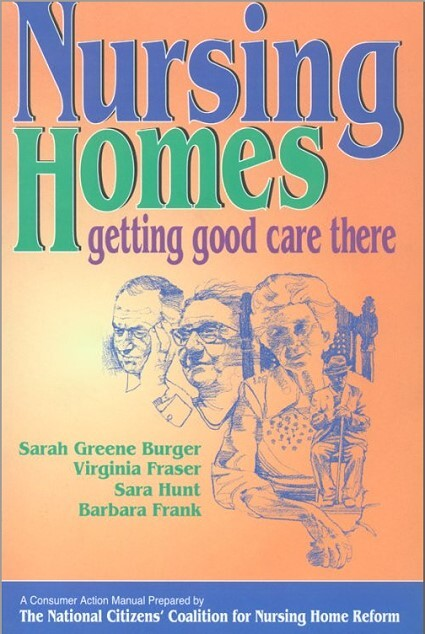 Front Cover - Nursing Home Guide Book