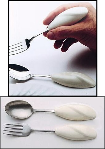 spoon and fork holders
