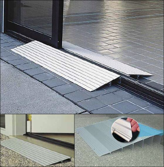 Threshold Ramp For Wheelchairs Or Walkers