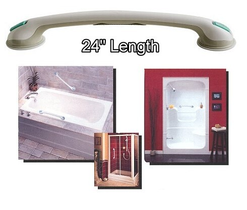 24 inch suction grab bar