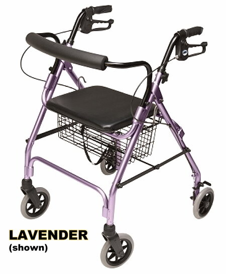 walk about 4 wheel rollator rolling walker