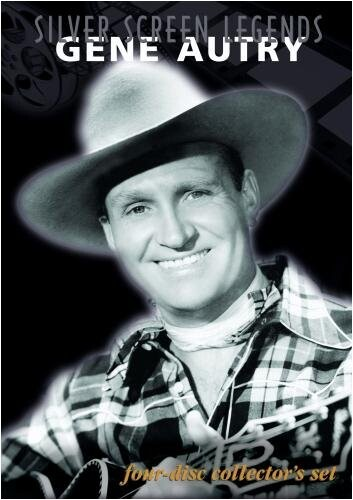 Silver Screen Legends: Gene Autry - 4 DVD Set Synergy 883629688237