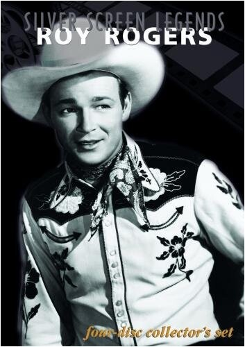 Silver Screen Legends: Roy Rogers - 4 DVD Set Synergy 883629688220