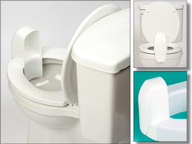 Splash Guard For Regular Or Elevated Toilet Seats