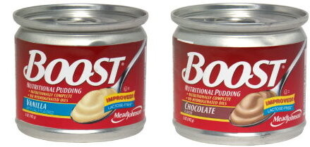 Boost Pudding Chocolate and Vanilla