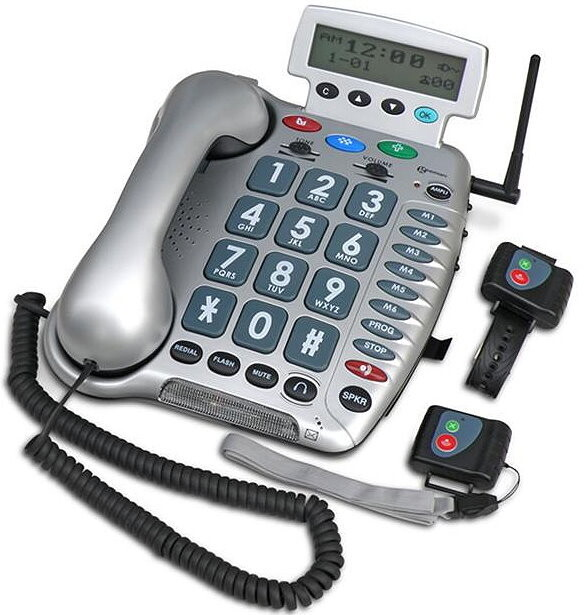 Emergency Auto Call Telephone for Seniors