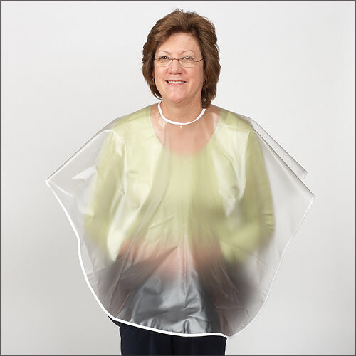 Clear Shampoo Cape for Seniors