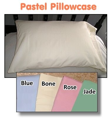 pastel color hospital standard pillowcases