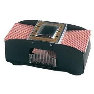 automatic card shuffler for 2 deck