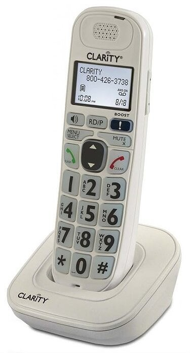Expandable HandSet for Clarity D7 Series Phone Systems