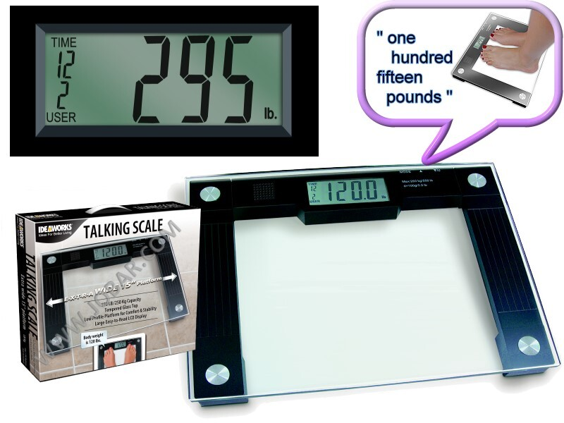 Extra Wide Talking Scale