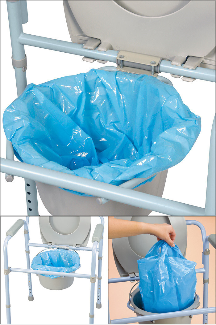 Carex Universal Commode Liners