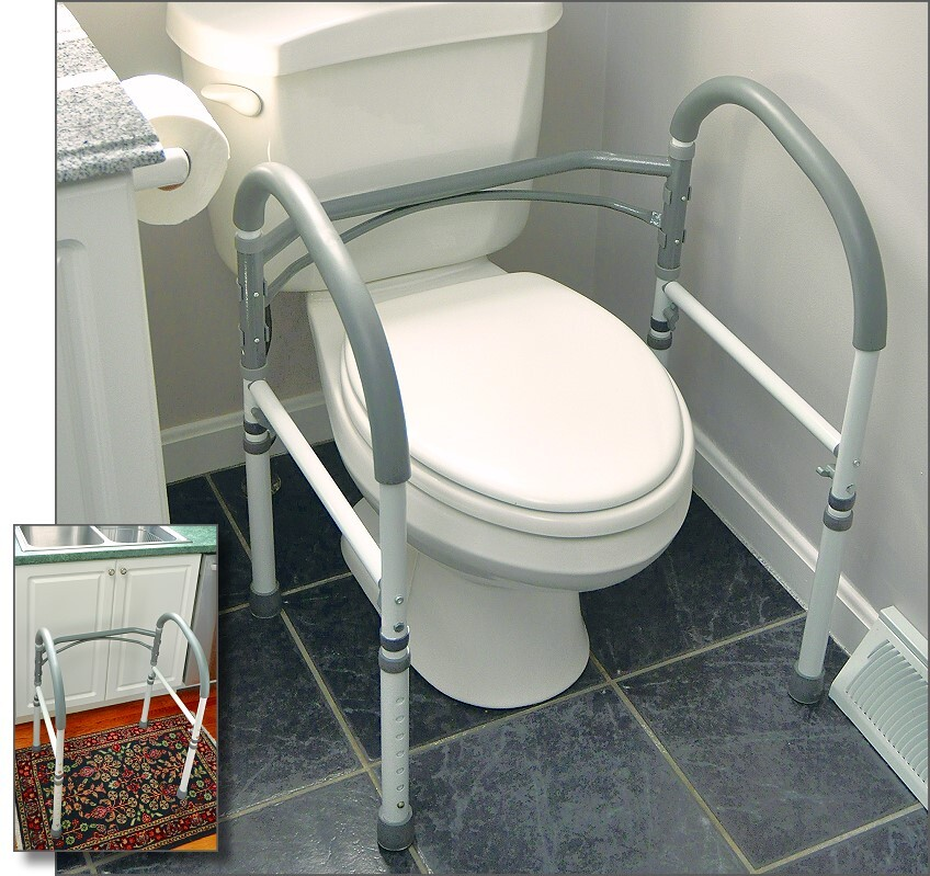 Universal Bathroom Safety Frame