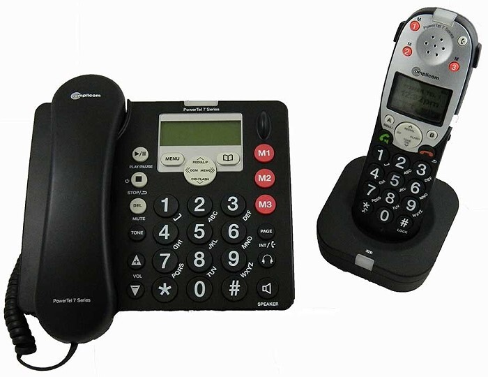 Amplicom 780 Assure Amplified Phone with Extra Handset