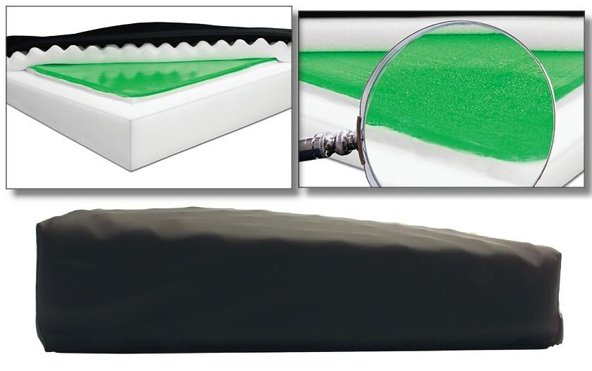 Wedge Gel Foam Cushion