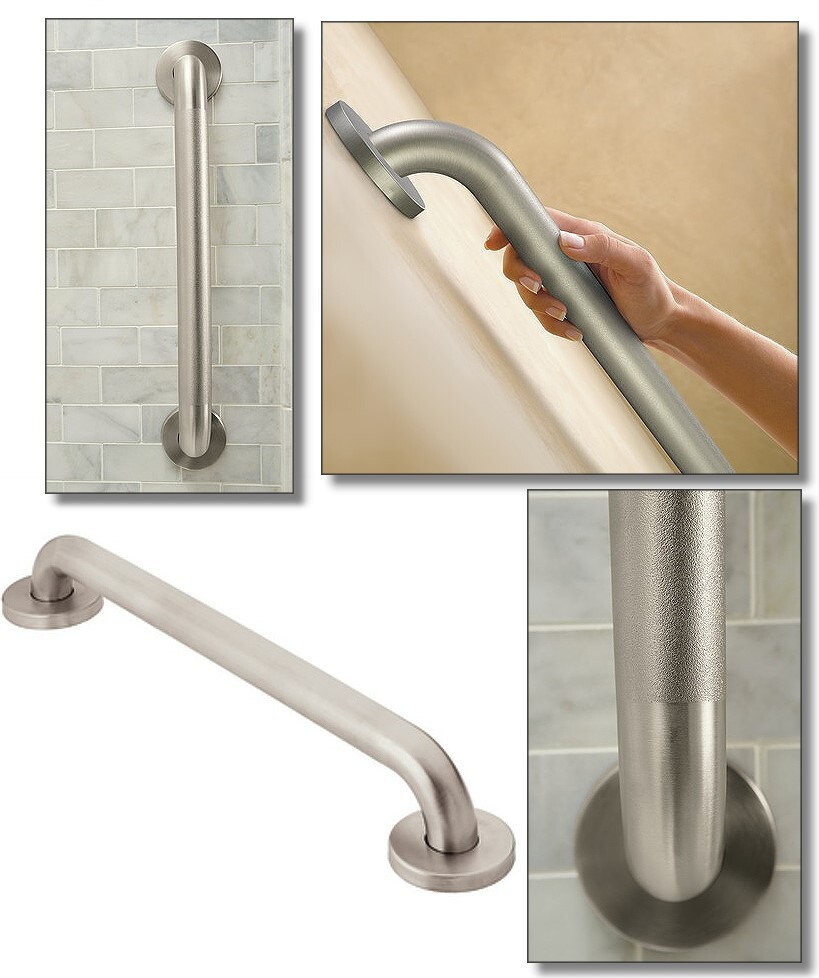 secure mount concealed screw grab bar