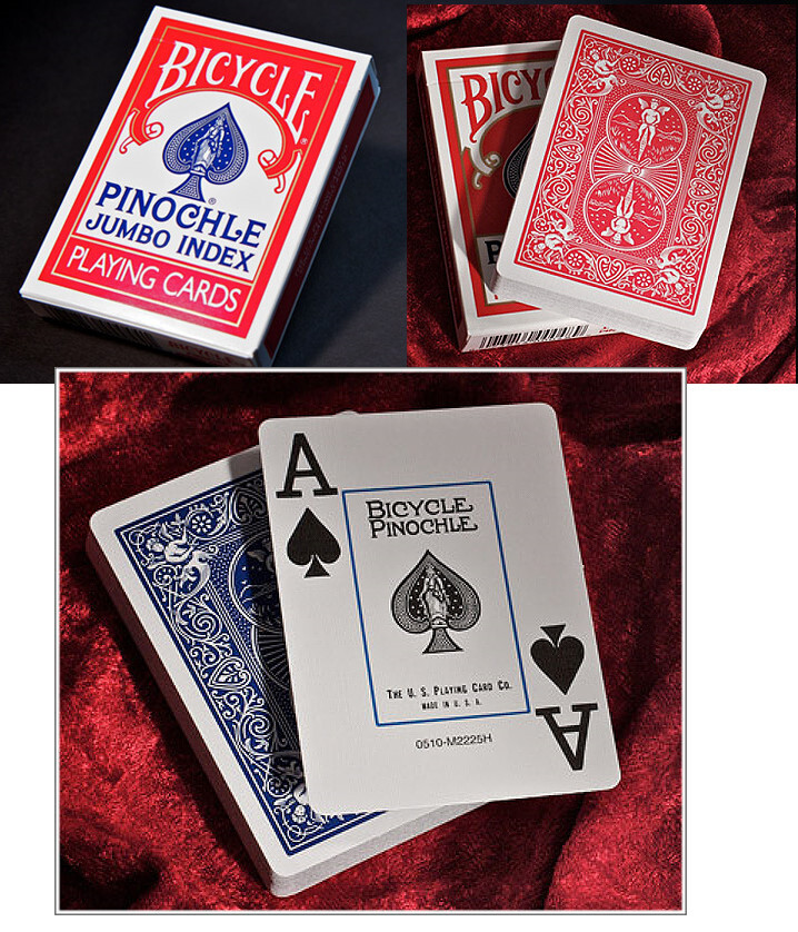 pinnochle playing cards