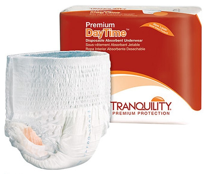 tranquility daytime pull up diapers