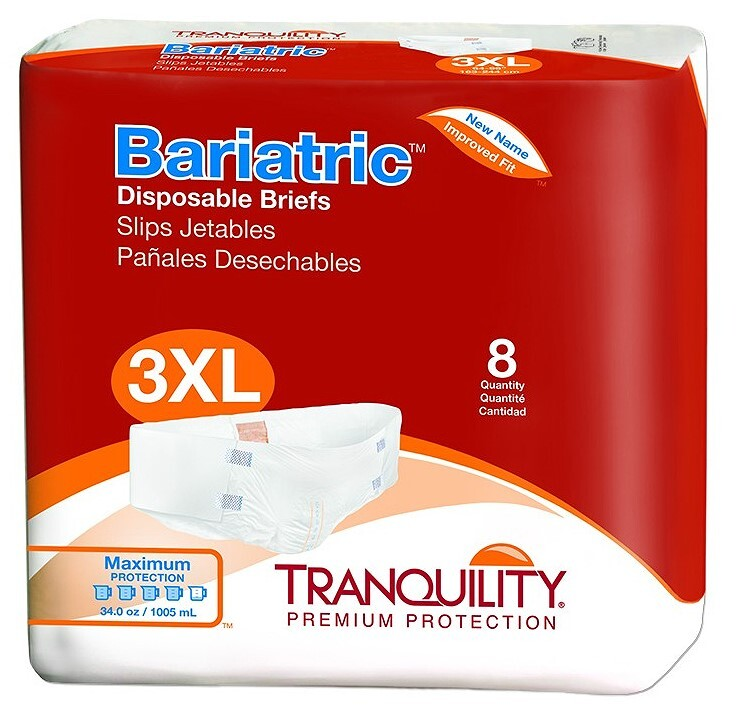 tranquility ATN 3X Bariatric Briefs