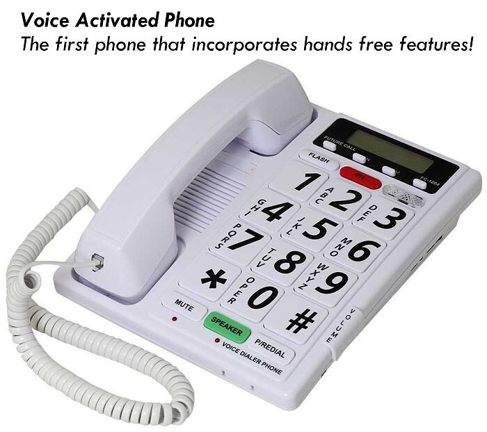 Hands Free Voice Activated Telephone