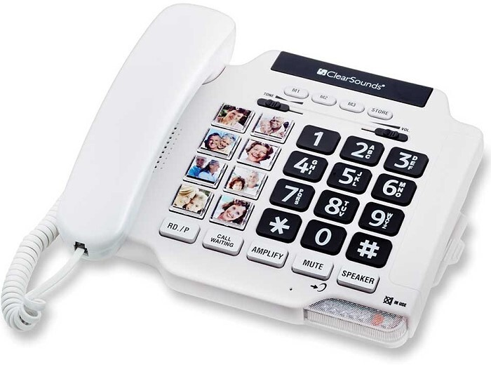 Picture Phone with Large Dialing Buttons and Speakerphone