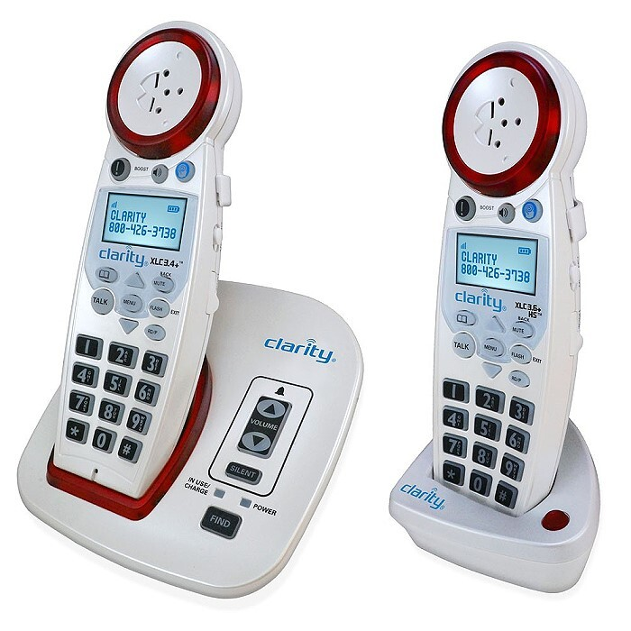 XLC3.4 Extra Loud Cordless Phone with Expansion Handset