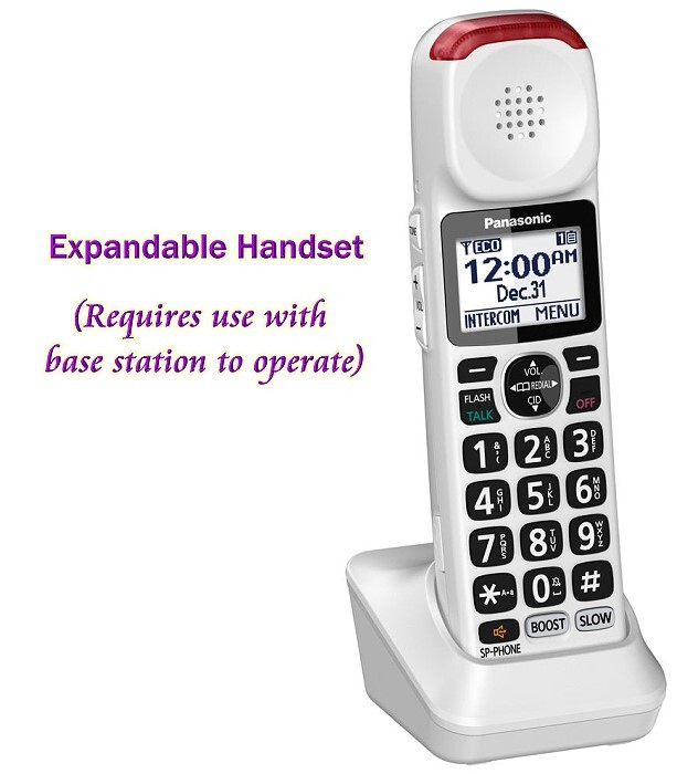 Expandable cordless handset for KX-TGM420W Phone System