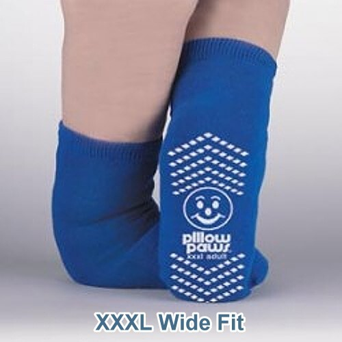 Bariatric XXXL Wide Slipper Socks for Swollen Feet