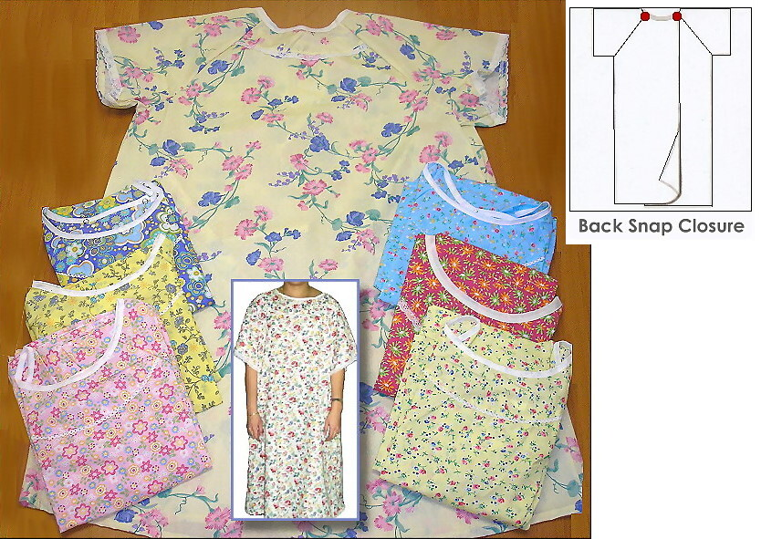 womens designer hospital gowns