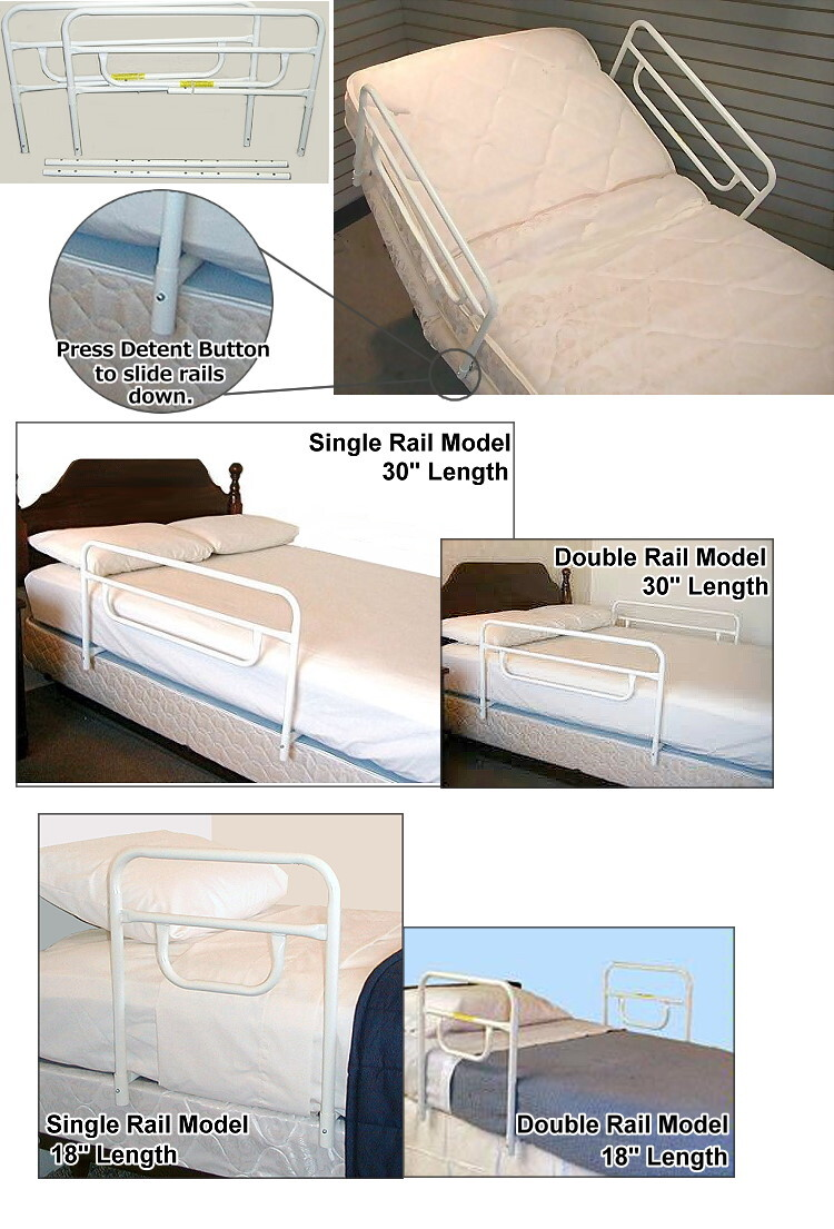 security bed rails for electric adjustable craftmatic beds