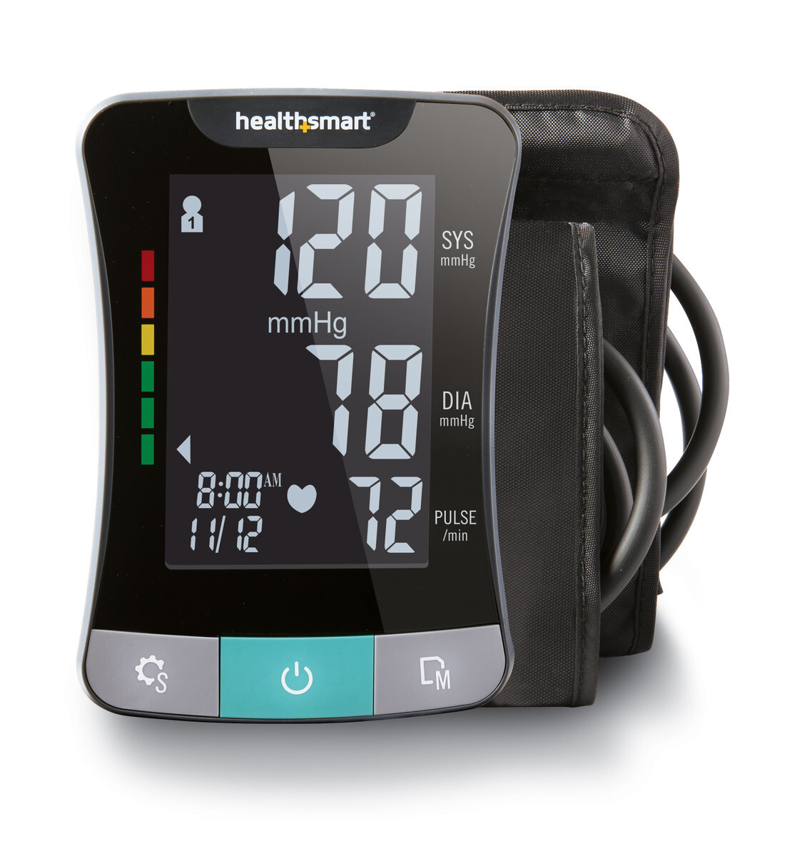 Talking Blood Pressure Monitor with Arm Cuff