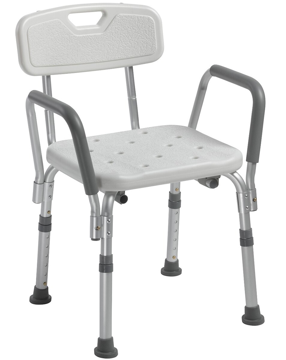 Bath Chair with Padded Arms