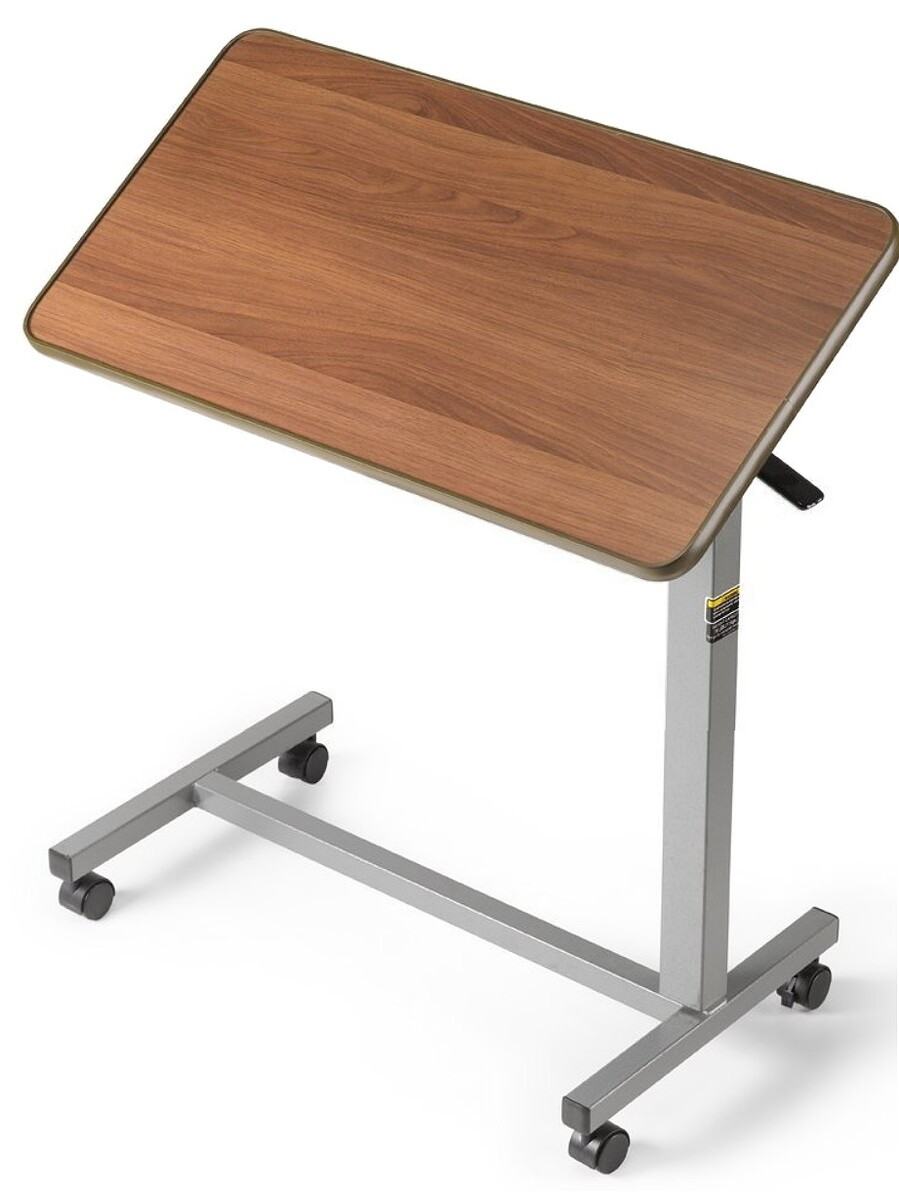 Invacare tilting overbed table