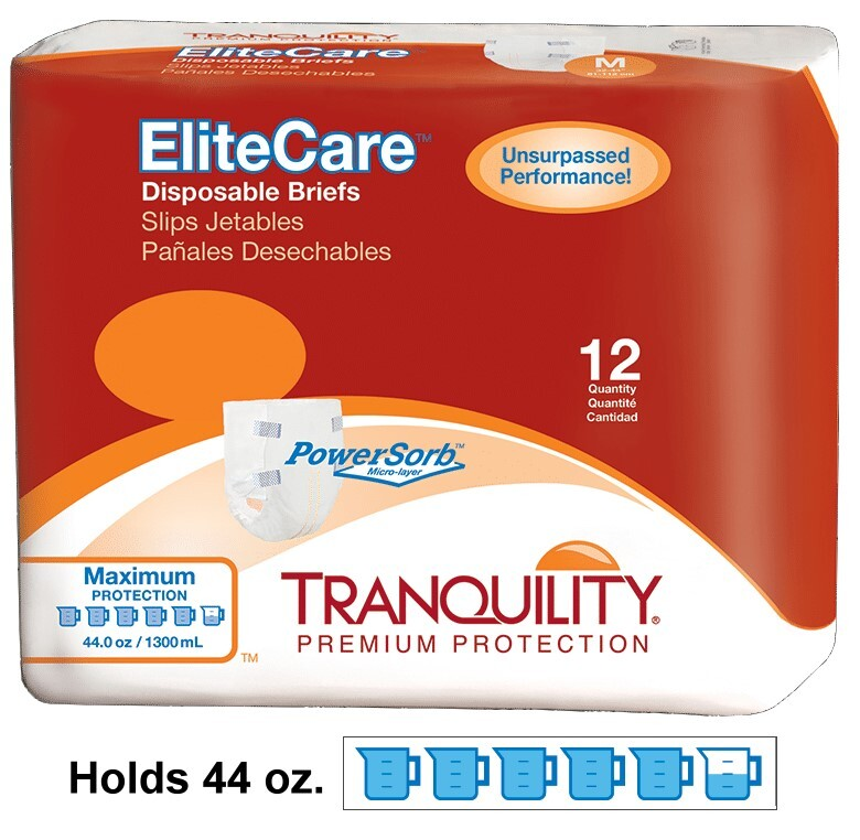 Tranquility Elite Care Briefs