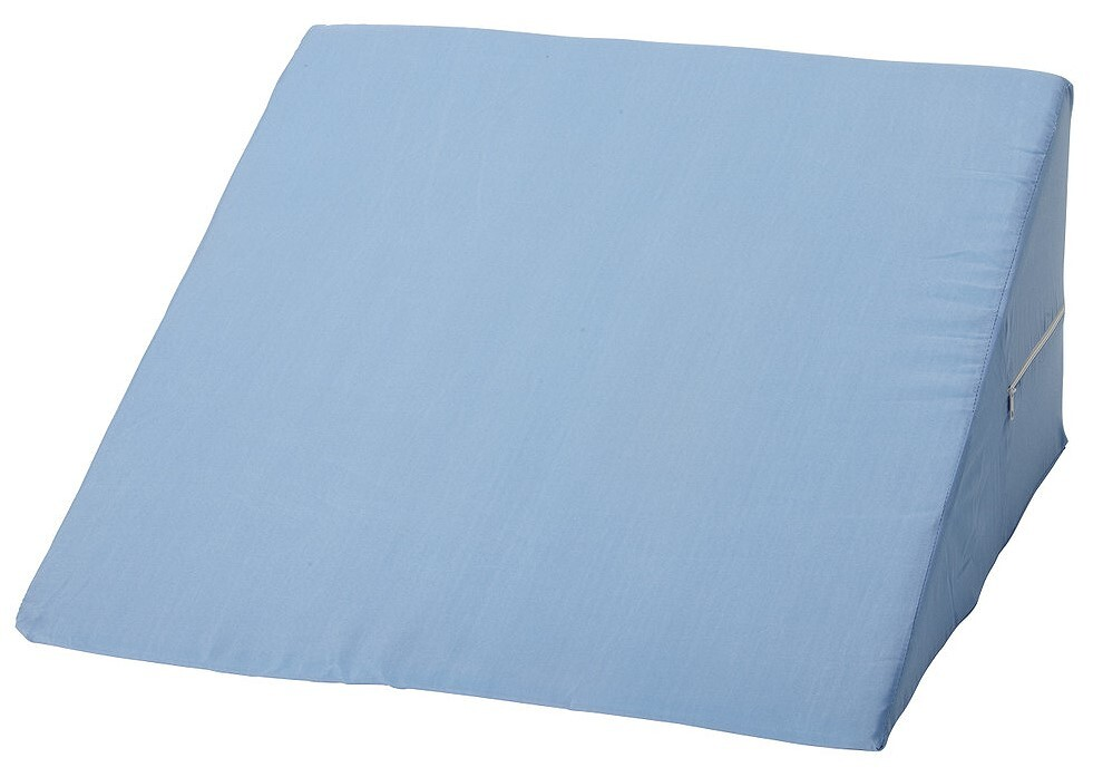 blue bed wedge