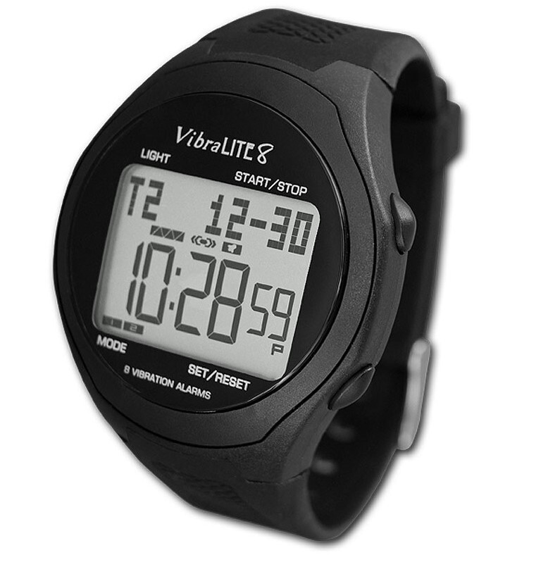 VibraLite 8 Vibrating Watches with Large Display and Reminder Watch