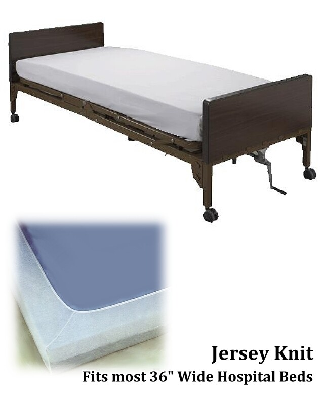 jersey knit hospital bed sheets