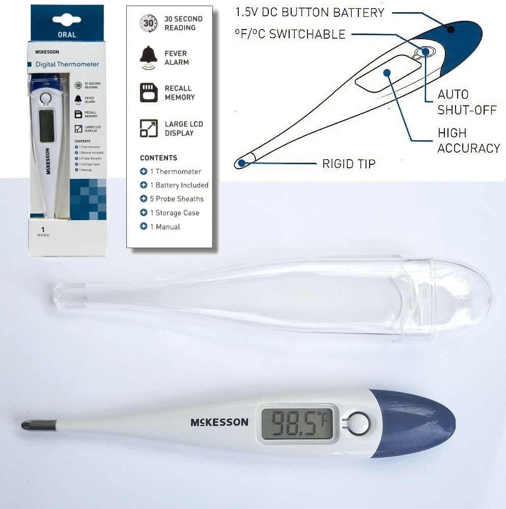Digital Thermometer for Low Vision