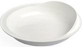 White Scooper Dish
