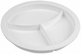White Partitioned Dish