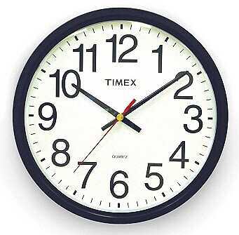 Extra Large Wall Clock Black