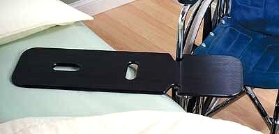 black plastic transfer board with handles