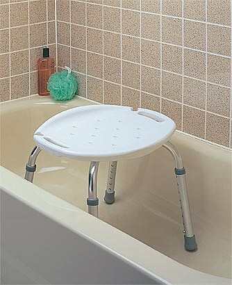 Carex Adjustable Shower Seat