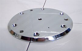 floor plate for portable advantage rail