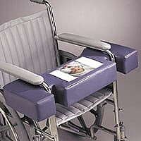 tabletop hugger for wheelchairs with activities and photo screen