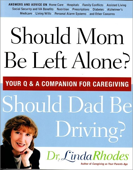 Front Cover - Should Mom be Alone