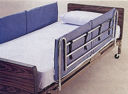 vinyl bed rail pads