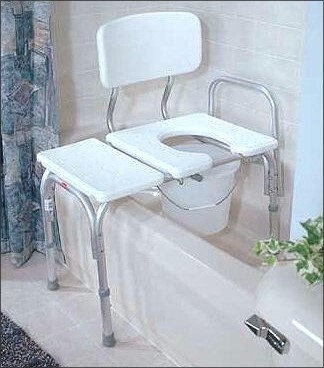 transfer bench and commode