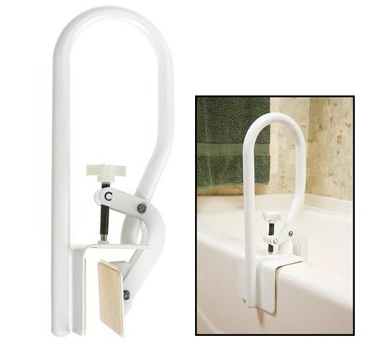 bath tub rail for fiberglass tubs
